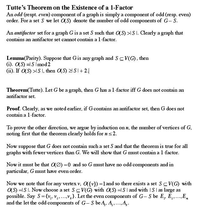 Thomas' Theorem